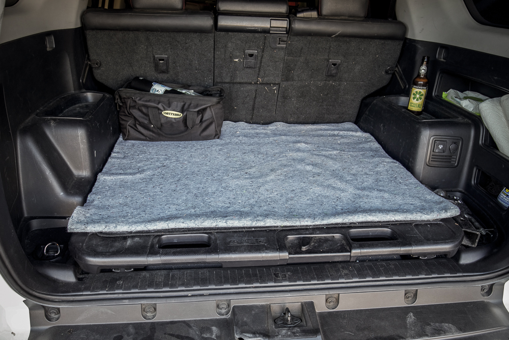 Rear Cargo Mat 5th Gen 4Runner Uhaul Blanket