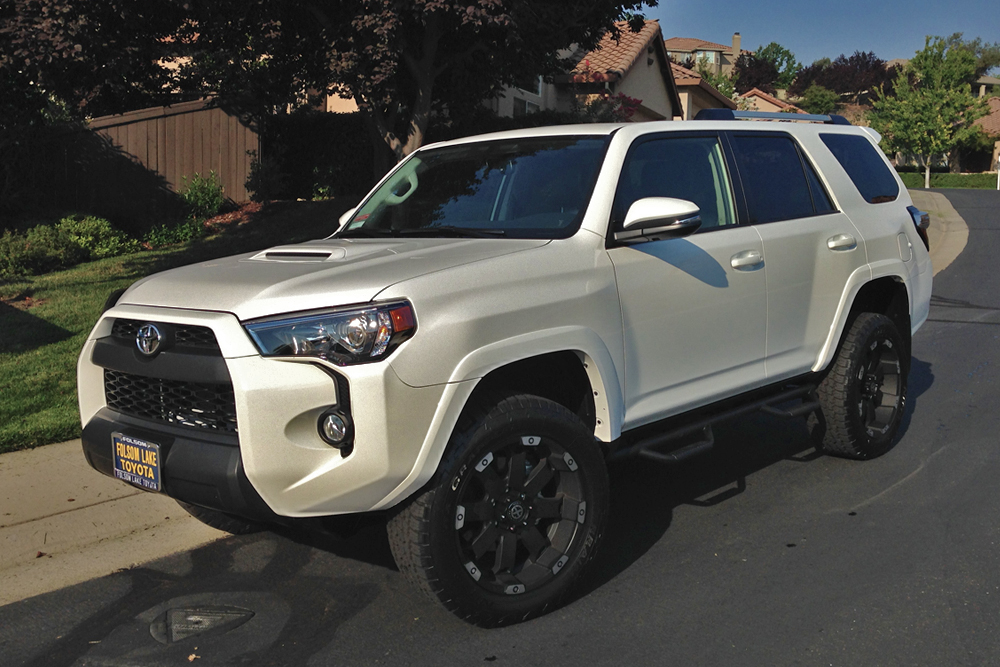 Super White Trail Premium 4runner 2014 Trail4runner Com