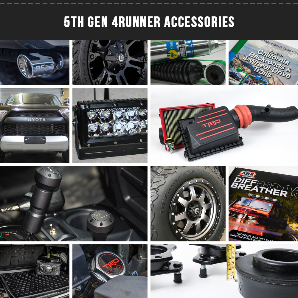 5th Gen 4runner Accessories