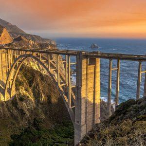 Bixby Bridge Sunset - Big Sur