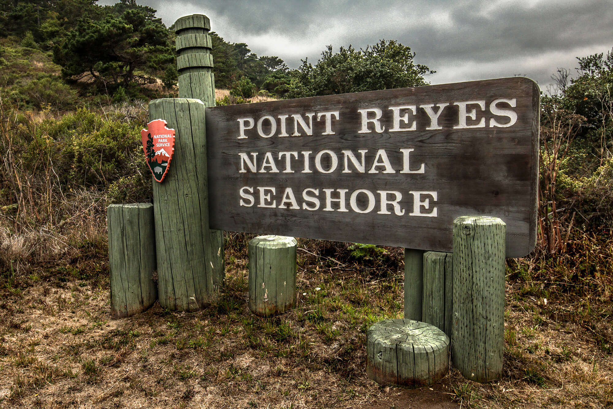 Point Reyes National Seashore Sign & Entrance
