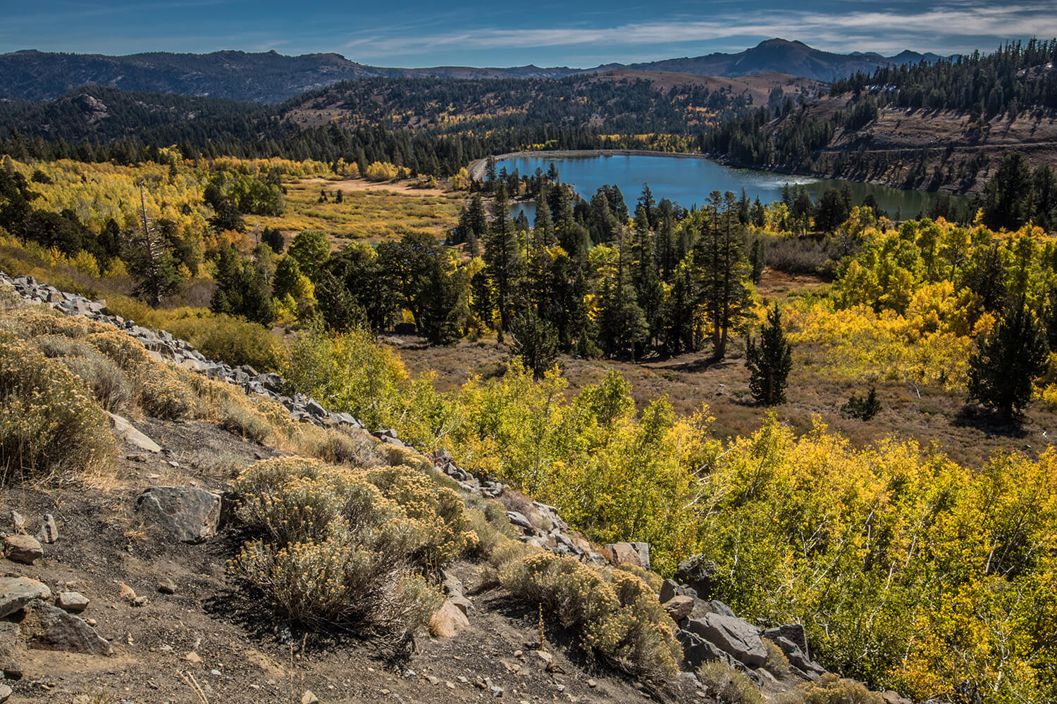 Fall Photography - Red Lake (Carson Pass Highway)