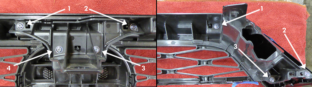 TRD Pro 4runner Grill Swap 5th Gen - Step 3 - Screws