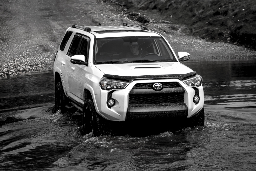 4Runner Water Creek Crossing