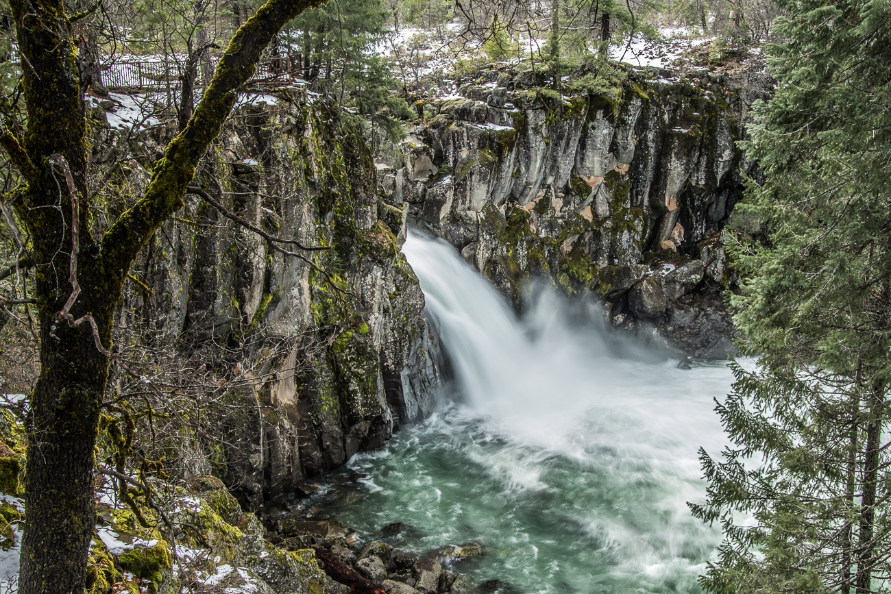 McCloud Falls - Upper McCloud Falls