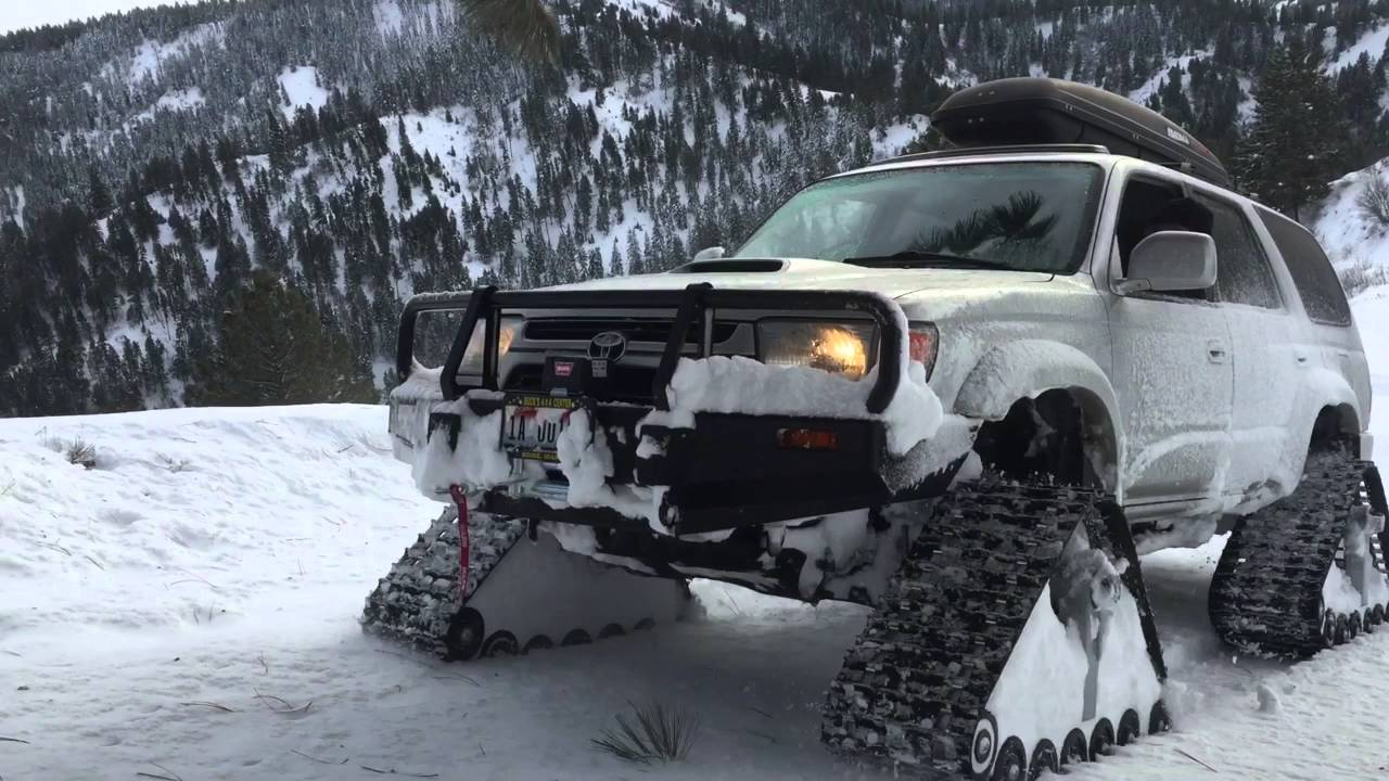 F 150 Snow Plow >> 4x4 Tracks for 4Runners, FJ Cruisers & More   4x4 Rubber Snow Tracks