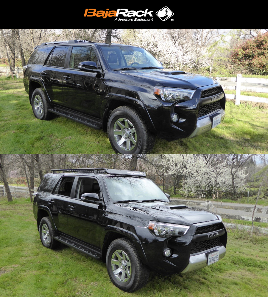 Toyota 4runner Bajaracks Roof Rack Install 5th Gen