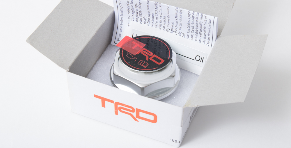 TRD Oil Cap 4Runner - TRD Parts