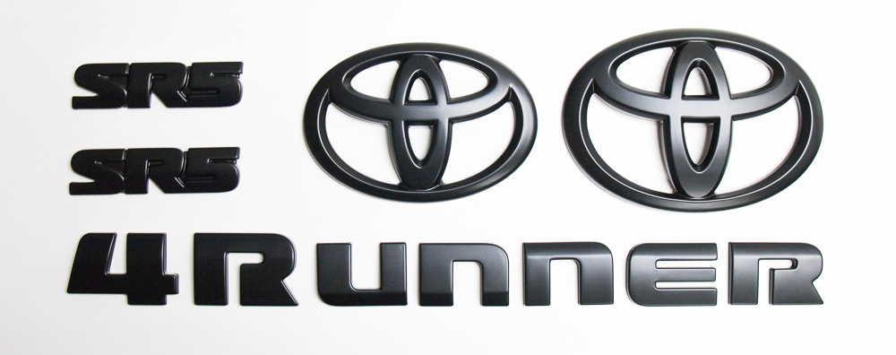 5th Gen 4Runner - Blackout Emblem Kit Overview