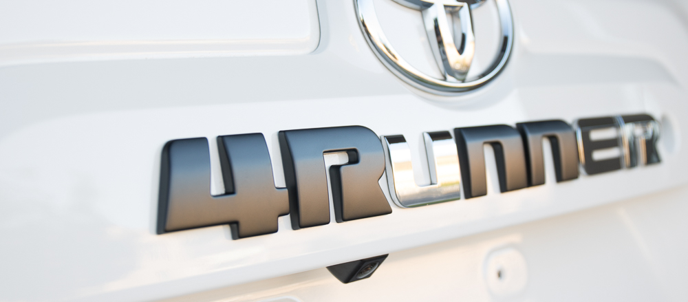 4Runner Blackout Emblem Kit - The N Vs. The U