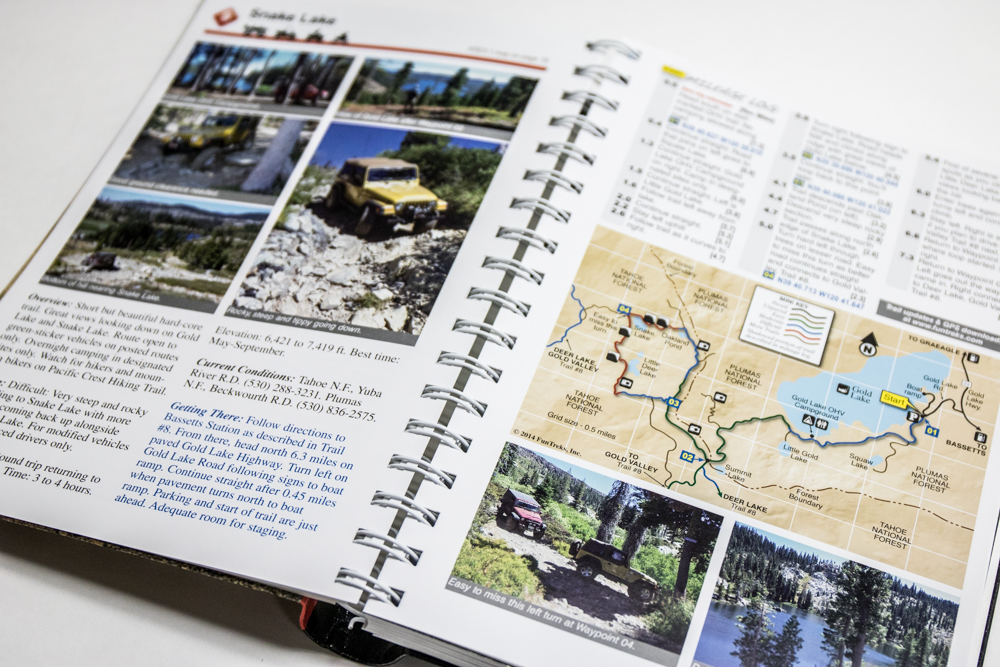 California 4x4 Trails Guide - Detailed Maps