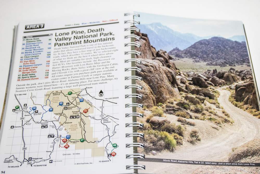 California 4x4 Trails Guide - Huge Trail Photographs