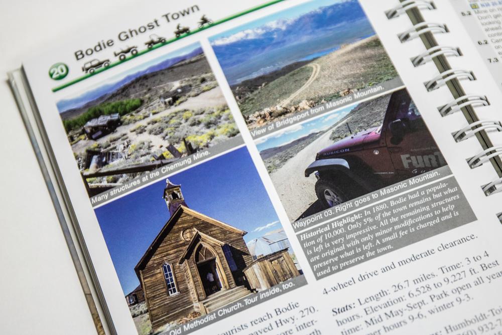 California 4x4 Trails Guide - Detailed Landmarks