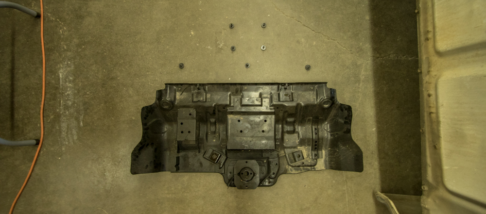 Save OEM Hardware from Skid Plate Removal