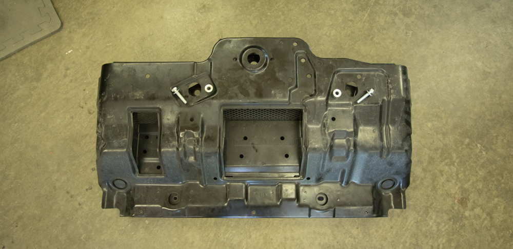 Replace Skid Plate