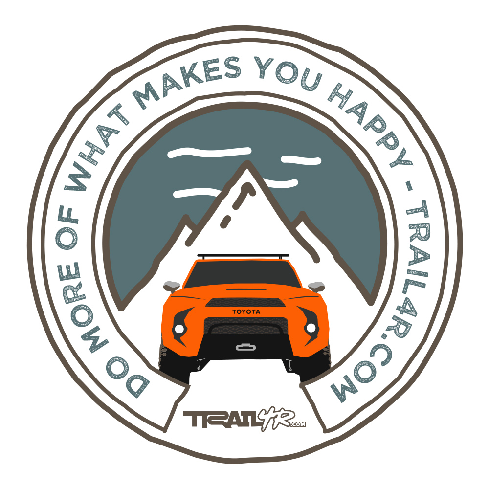 5th Gen 4Runner Patch - TRD Orange