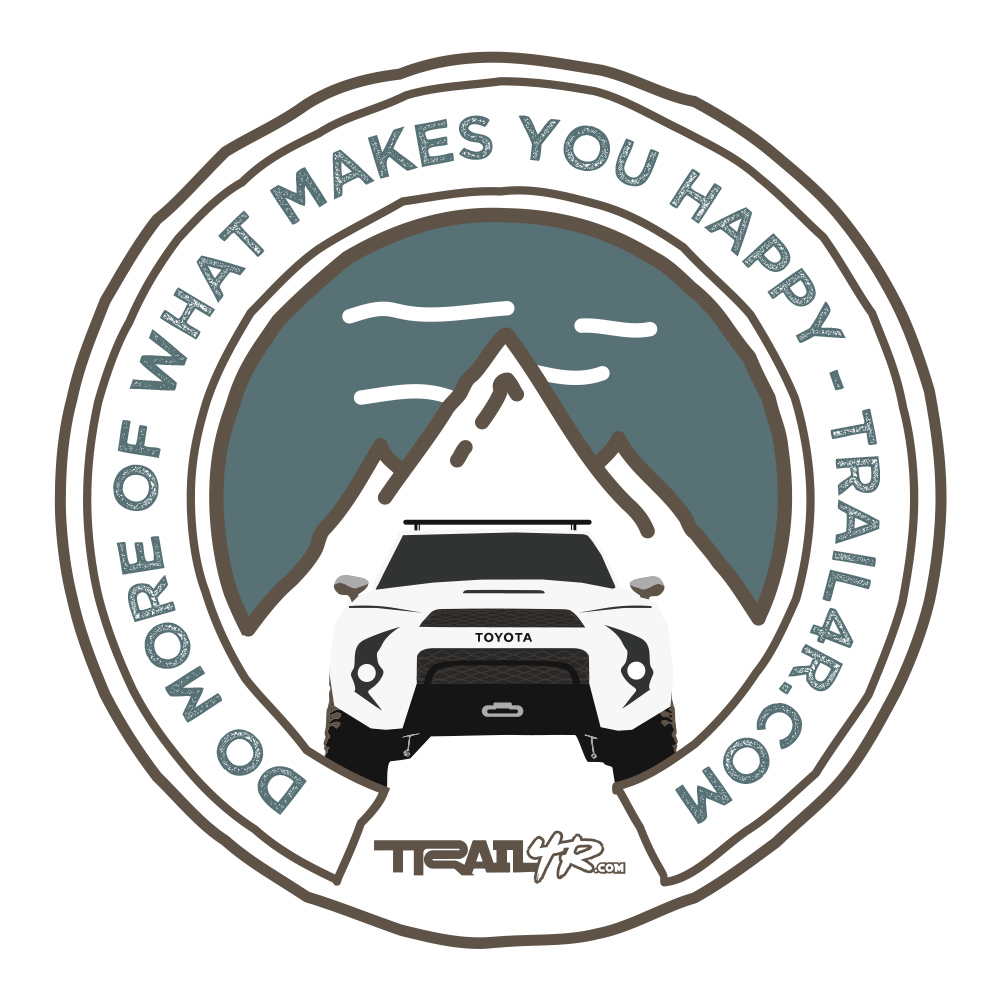 5th Gen 4Runner Patch - Superwhite