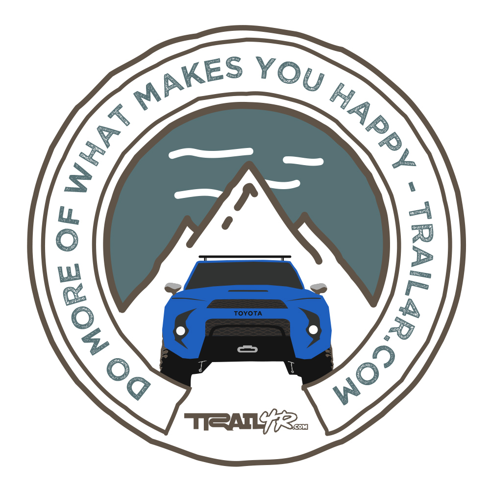 5th Gen 4Runner Patch - Nautical Blue Metallic