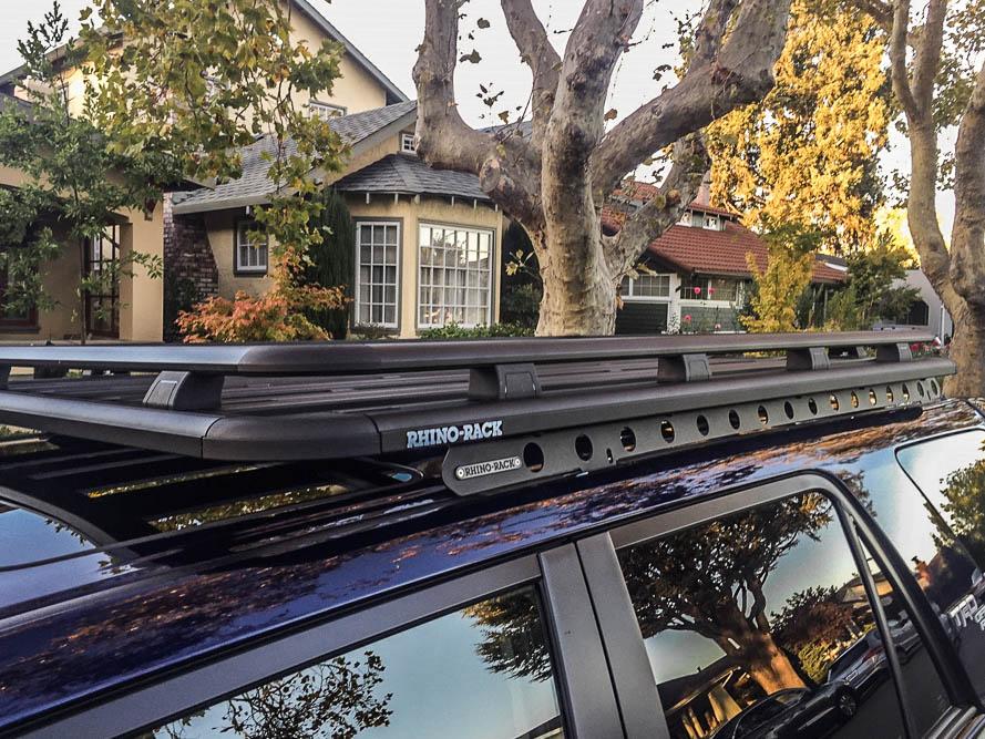 Rhino Rack Pioneer Sx Roof Rack 5th Gen 4runner Review