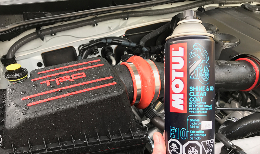 Cleaning 5th Gen 4runner Engine - Motul