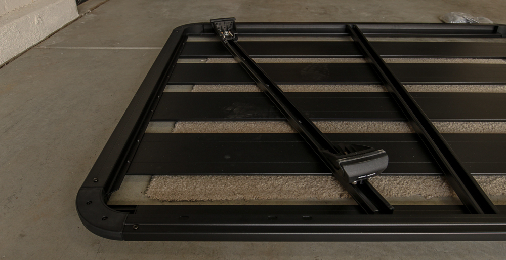 Slide Pioneer Crossbars Into Rack