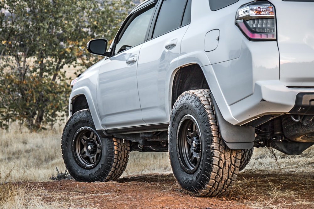 fuel anza wheels toyo open country at 2 5th gen 4runner. Black Bedroom Furniture Sets. Home Design Ideas