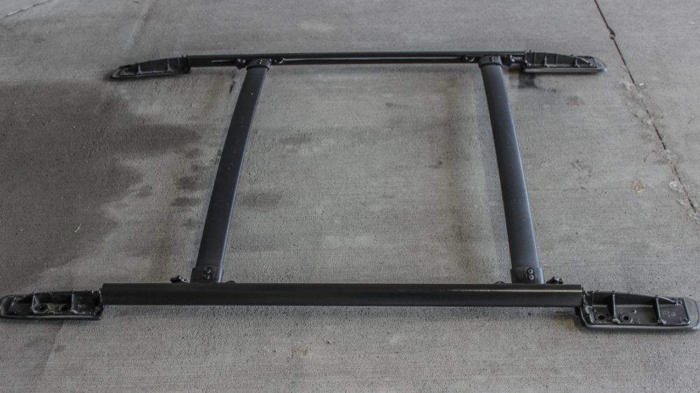 Step 6: ReInstall 5th Gen 4Runner Plasti-Dip Roof Rack
