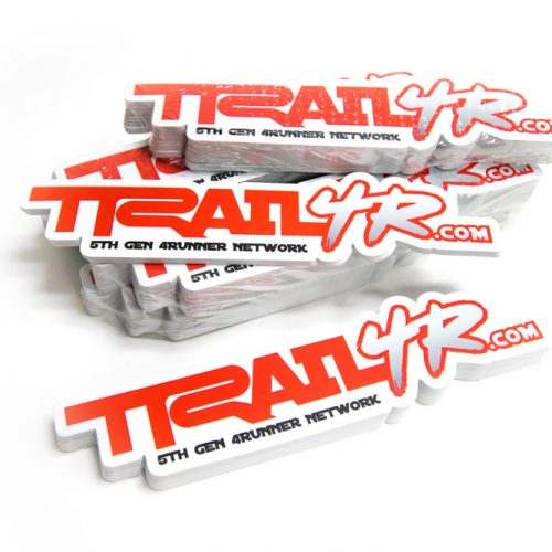 trail 4r 4runner stickers