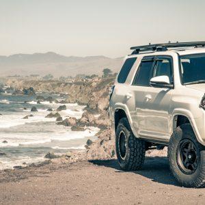 Bodega Bay Sonoma Coast - The 4Runner at Arched Rock