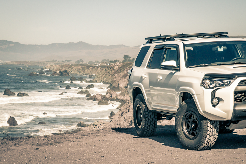 Bodega Bay Sonoma Coast - The 4Runner at Arched Rock