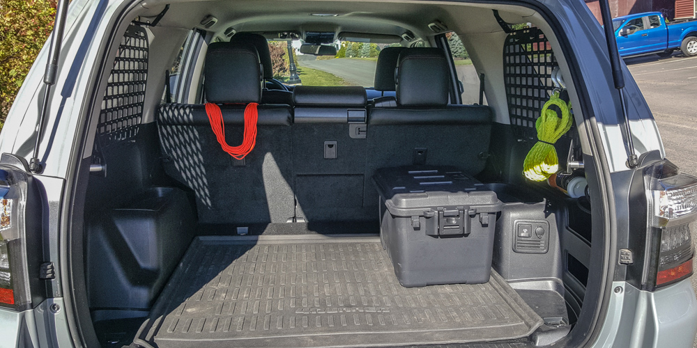 Rago Fab MOLLE Storage Panel Install 5th Gen 4Runner