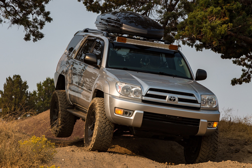 An Off-Road Overview of the 4th Gen Toyota 4Runner 2003-2009