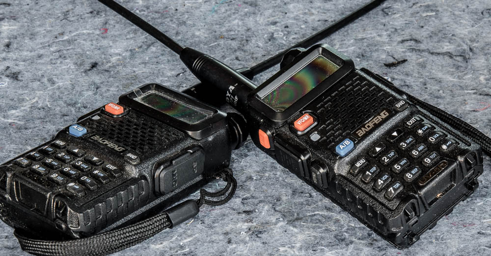 BaoFeng UV-5R Dual Band Two Way Radios