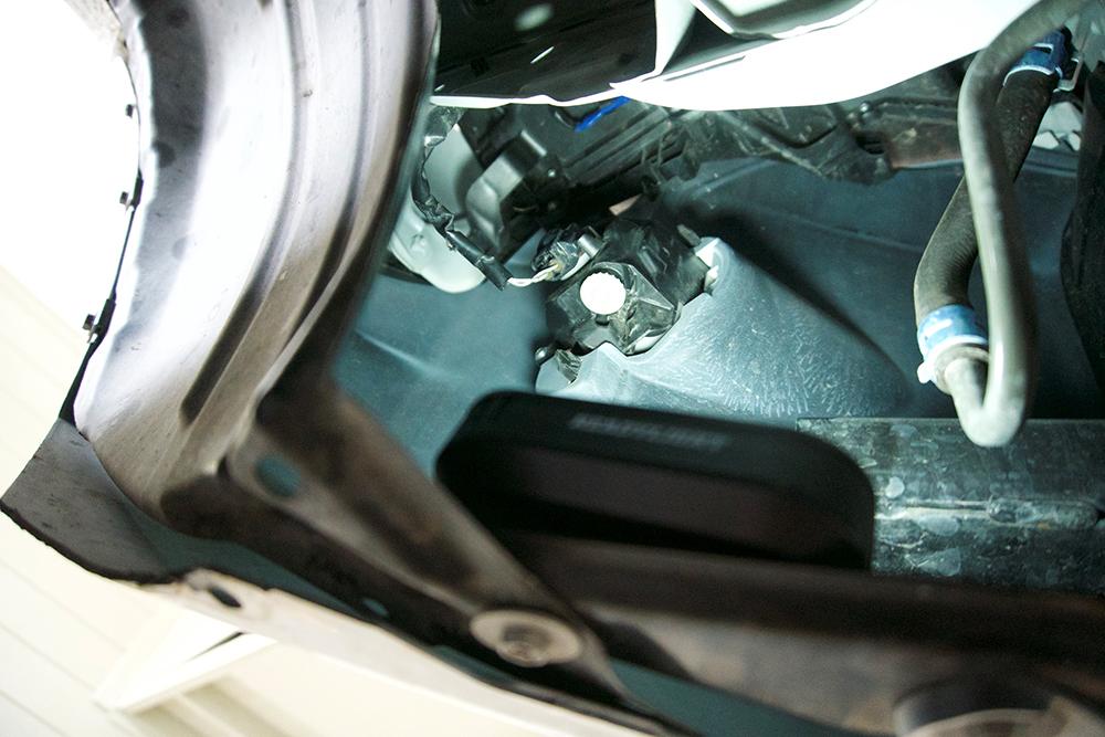 Step #2: Removing Driver Side Fog Light