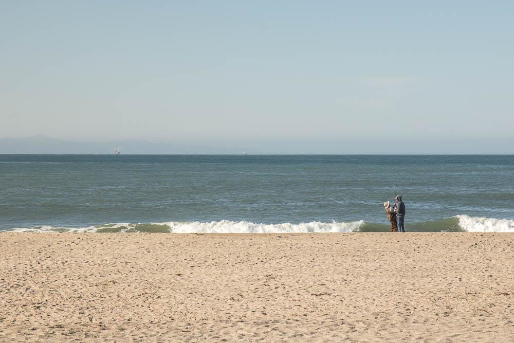Ventura, CA - Beach Scene