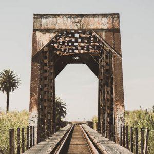 Ventura, CA - The Railroad Tracks