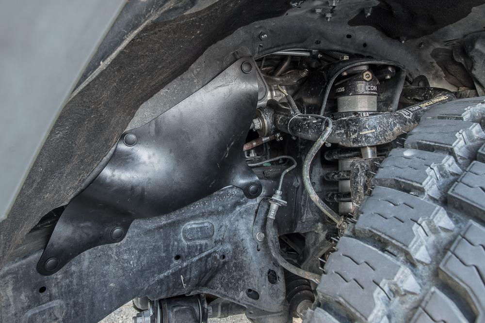 4Runner Engine Splash Guards - Passenger