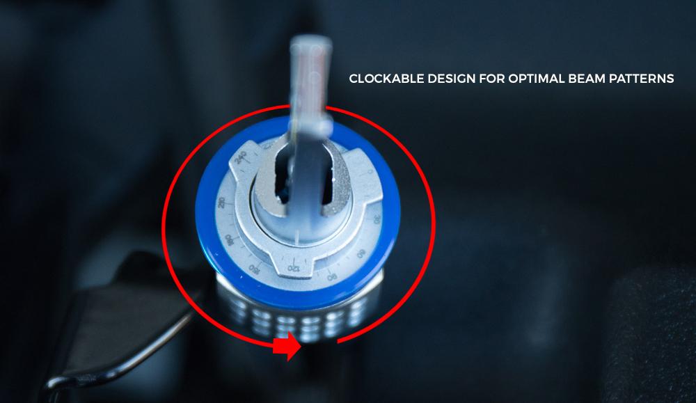 Clockable Design for optimal beam patterns