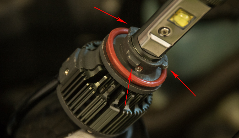 4Runner LED Headlight (Highbeams) Install