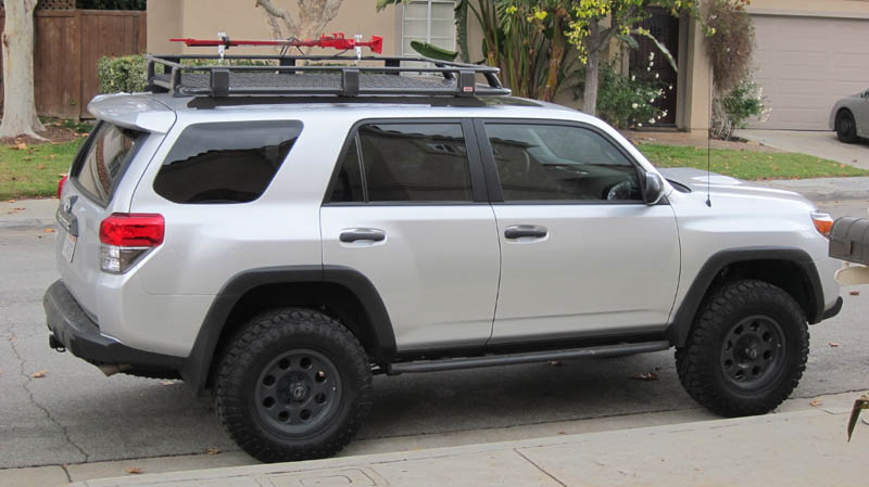 5th Gen 4runner Roof Racks Full Length 3 4 Length