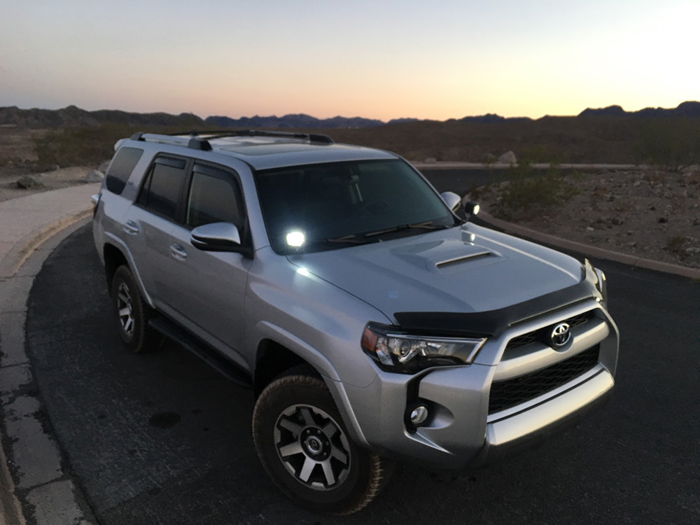 Cali Raised 4Runner Ditch Lights Overview