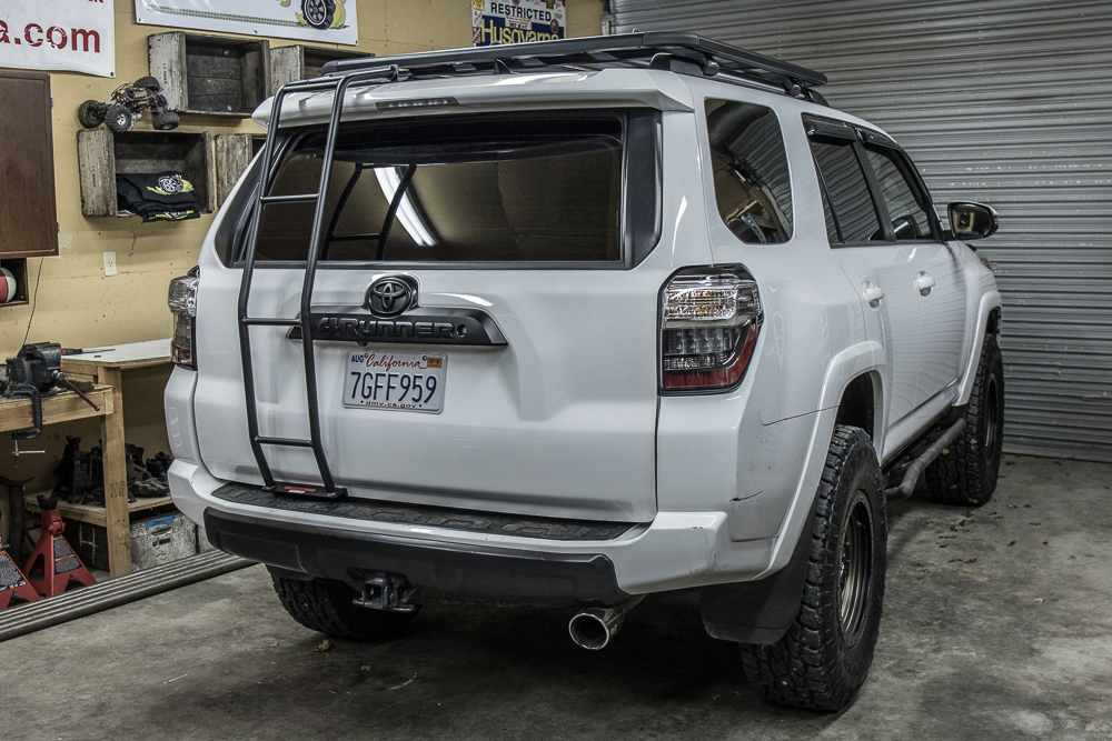 Gobi Ladder Installation On 5th Gen 4runner 5th Gen