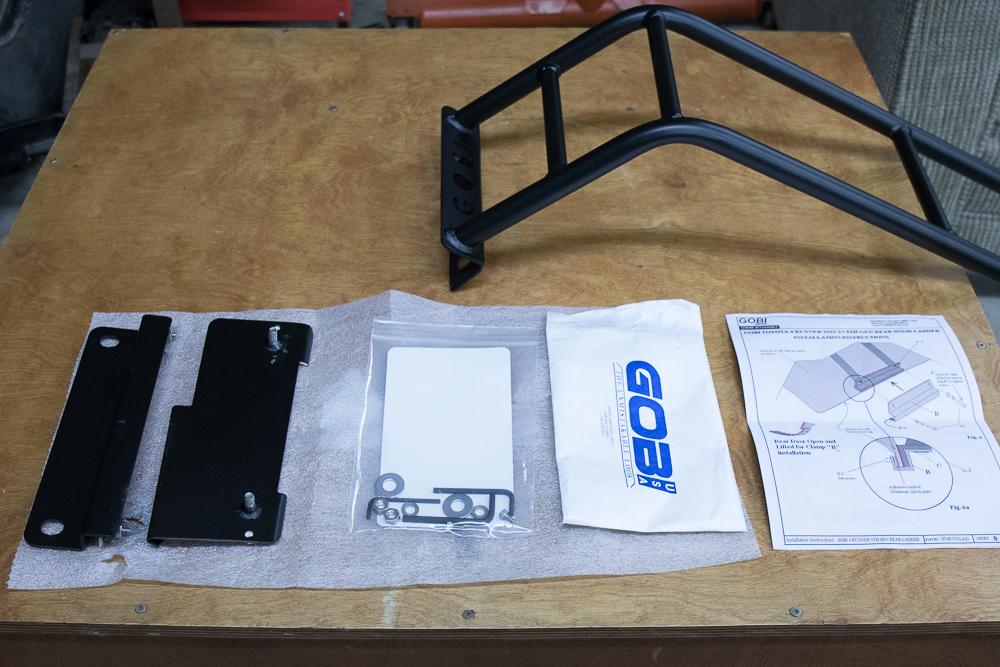 Gobi Ladder Install 5th Gen 4Runner