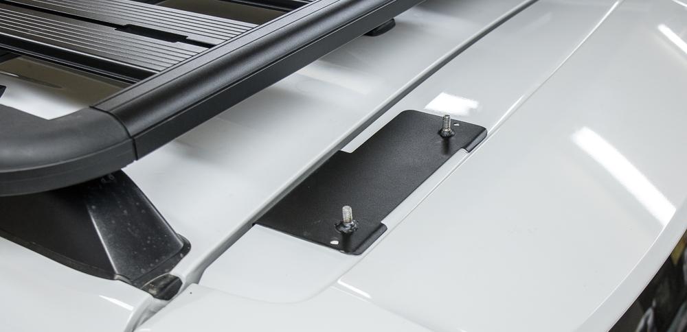 Gobi Ladder Install 5th Gen 4Runner - Top Plate