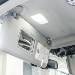 Vanity LED Light Install Step #7 -Pop Light cover Back On