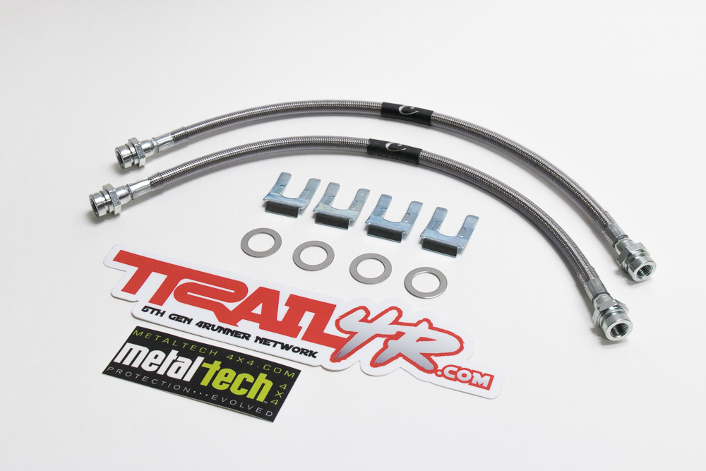 Extended Rear Brake Lines 5th Gen 4Runner