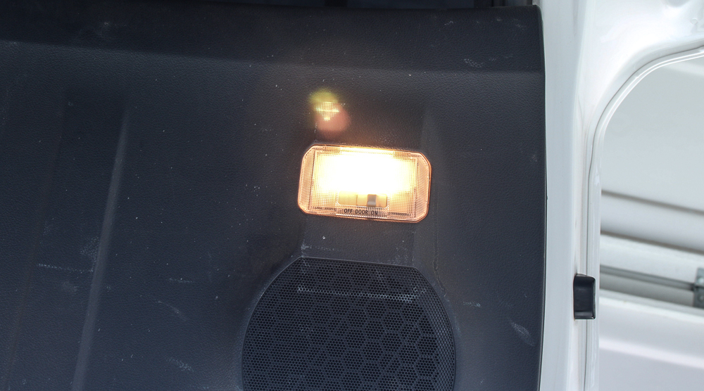 Rear Hatch & Cargo 4Runner LED Light #1 - LED Lights Before