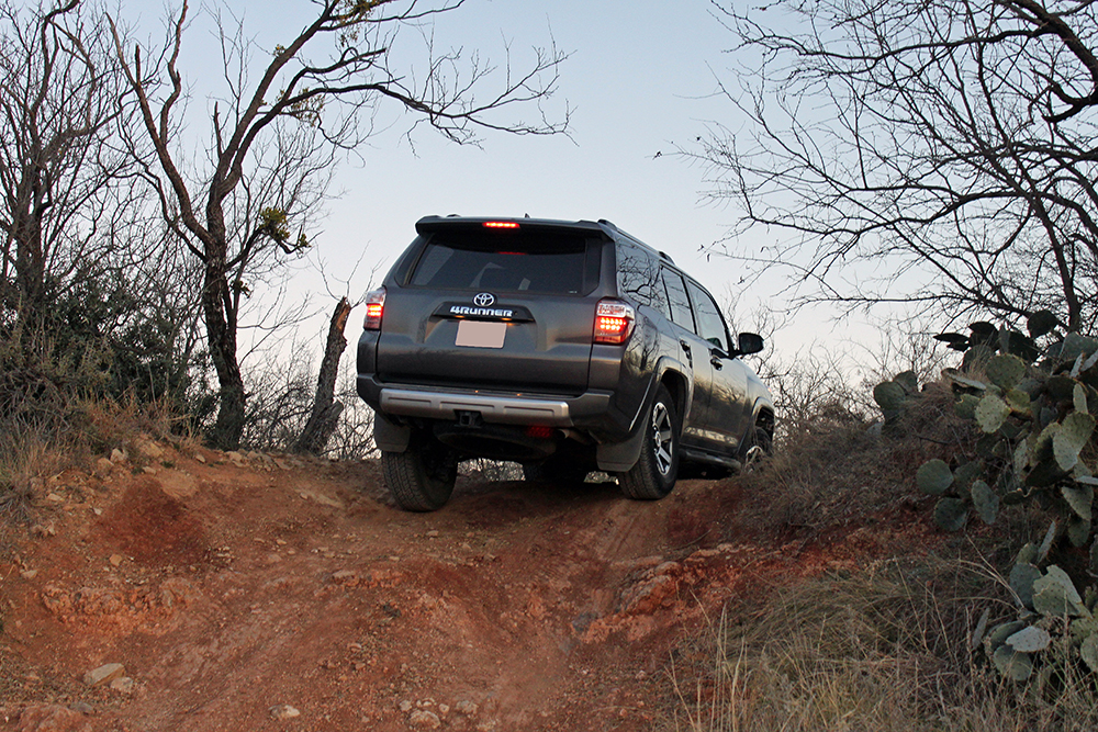 5th Gen 4Runner Off-Road Features, 4Runner Off-Road Settings