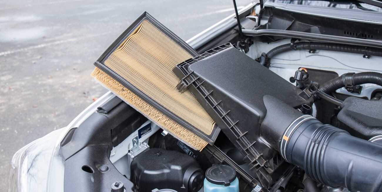 5th Gen Air Filter Replacement Step #3 -Lift out OEM Filter