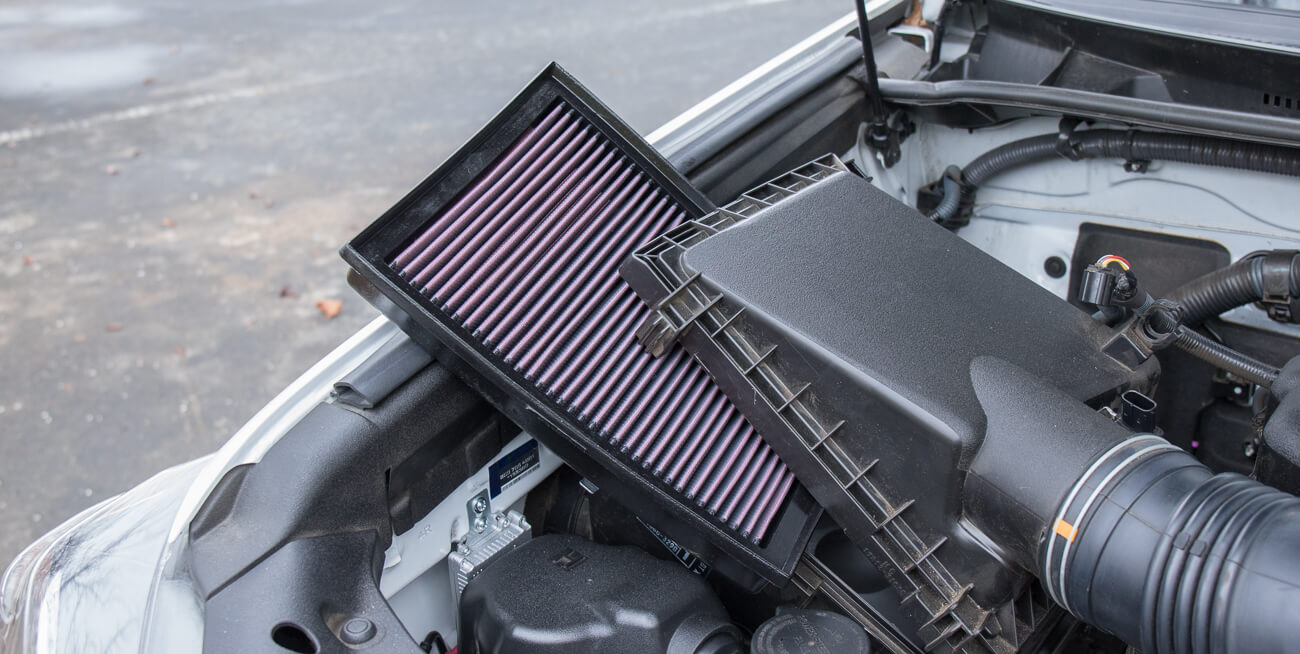 5th Gen Air Filter Replacement Step #4 - Swap in New Aftermarket Filter